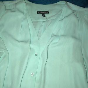 Express Sky Blue Shirt